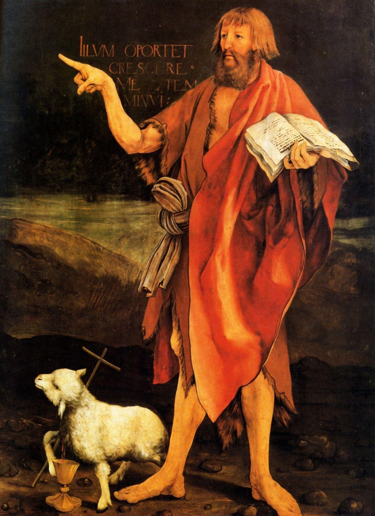 Johannes der Taeufer