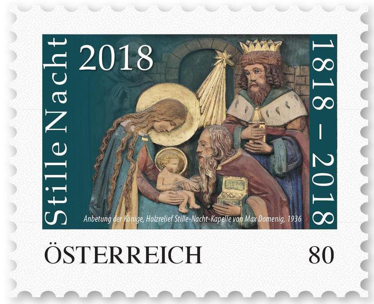 znaczek pocztowy Austria_Stille_Nacht